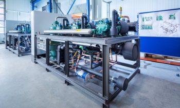Die »Ecopro 2.0«-Serie von L&R zeichnet sich durch hohe Energieeffizienz aus und wurde für den Betrieb mit alternativen HFO-Kältemitteln entwickelt. Bild: L&R