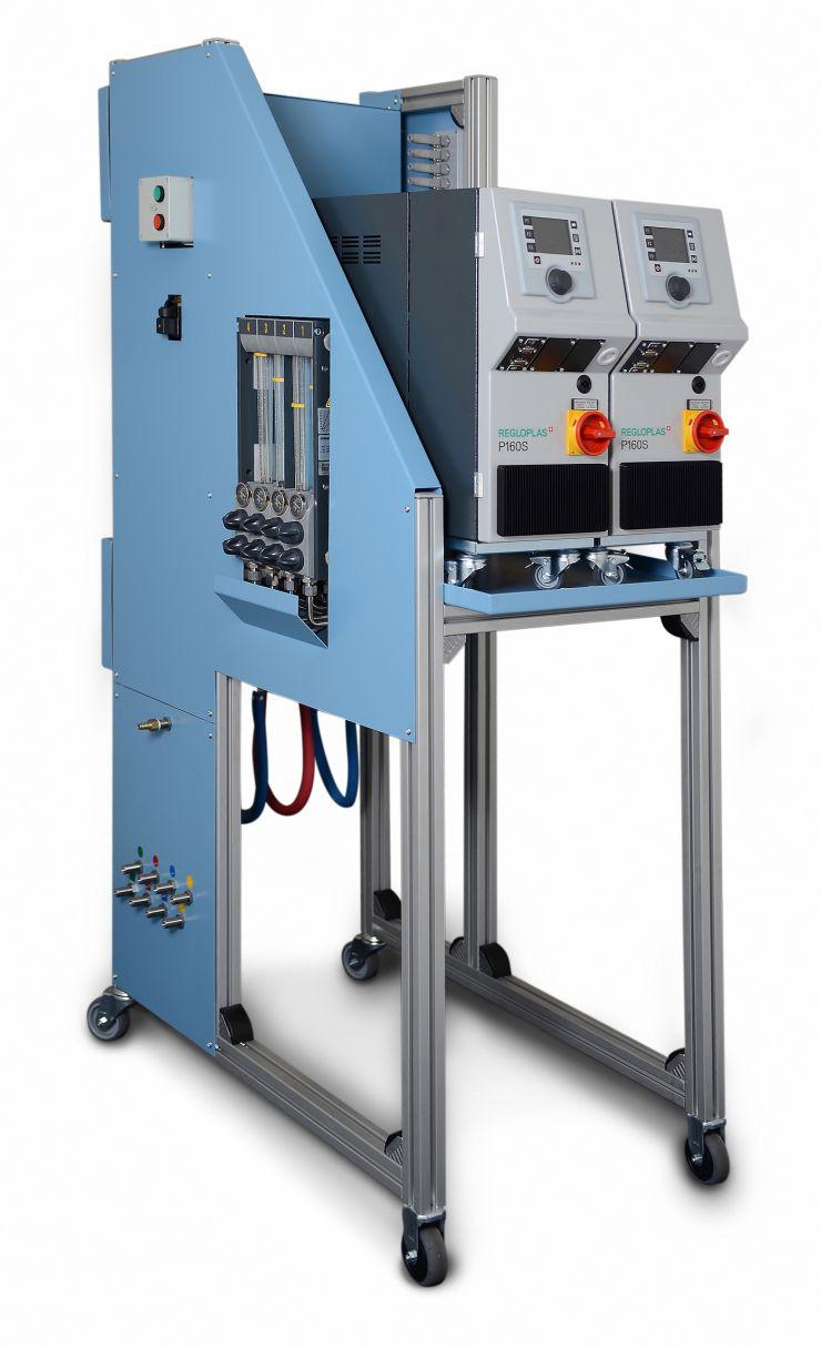 Mit der Dockingstation werden Rüstzeitverkürzungen von bis zu 50 Prozent beim Prozessschritt Werkzeugreinigen erreicht. Bild: Weiss