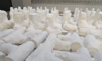 3D-gedruckte Ventile für Notfallbeatmungsmasken. Bild: Protolabs