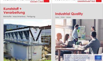 Starkes Duo: »Kunststoff + Verarbeitung« und »Industrial Quality«