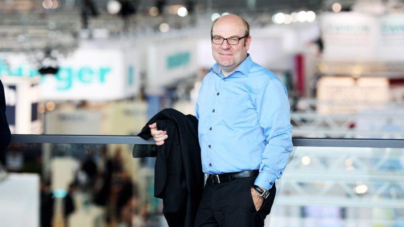 Prof. Thomas Seul, Präsident des VDWF (Bild: Messe Stuttgart).
