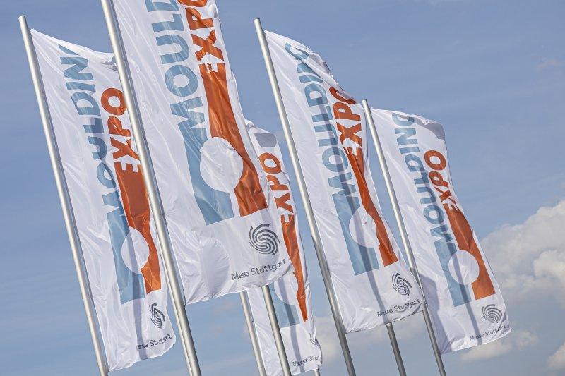 Die nächste »Moulding Expo« findet turnusgemäß vom 13. bis 16. Juni 2023 in Stuttgart statt (Bild: Messe Stuttgart).