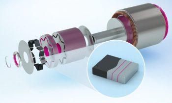 Der neue Strukturklebstoff wurde für das Verkleben von Magneten in Elektromotoren optimiert (Bild: Delo).