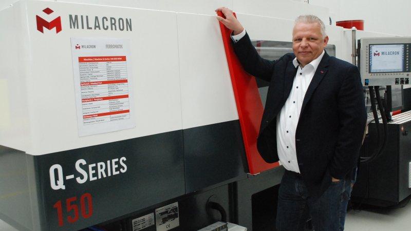 Peter Kochs, der neue Director Sales & Business Development (Bild: Ferromatik Milacron).
