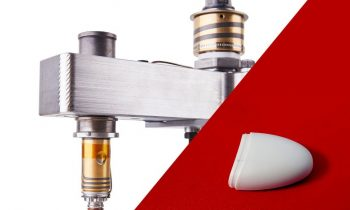 Typische Anwendungen der neuen Heißkanallinie sind Kleinteile aus technischen Kunststoffen wie das abgebildete Gehäuse (Bild: HRSflow).