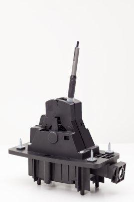 14-teiliges Schaltmodul für ein Doppelkupplungsgetriebe (Bild: Weiss Kunststoffverarbeitung).
