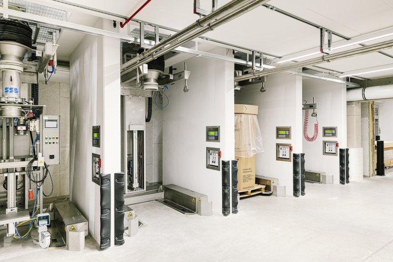 Die hochmoderne Abfüllanlage im neuen Werk in Mühlheim (Bild: pal plast).
